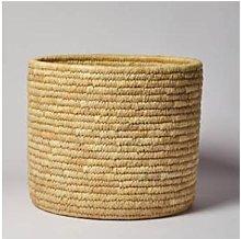 Afroart - Handmade Solid-Weave Palm Basket - Large