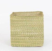 Afroart - Natural Hehe Kvadrat Basket, Large Size