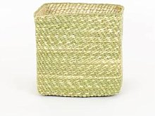 Afroart - Natural Hehe Kvadrat Basket, Medium Size