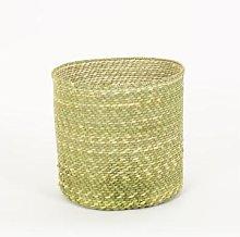Afroart - Natural Hehe Rund Basket, Medium Size -