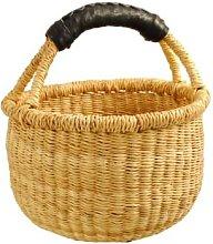 Afroart - Natural Minibolga Basket - H 12 cm, Ø