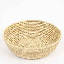 Afroart - Natural Palm Bread Basket - about Ø