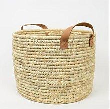 Afroart - Natural Palm Firewood Basket - Fair