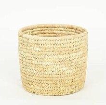 Afroart - Pot Palm Cylinder Large Basket - natural