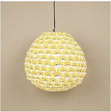 Afroart - Yellow/White Cornflower Lampshade -