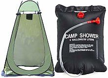 afto mket Camping Toilet Tent + Camping Shower Bag