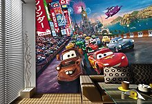 AG DESIGN Cars Disney 4 Part Photo Mural Wallpaper
