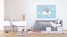 AG DESIGN Dumbo Curious of a Cloud Disney Fleece