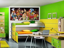 AG DESIGN Muppets Photo Mural Wallpaper for