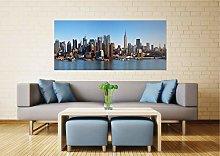 AG DESIGN New York View Photo Mural Wallpaper,