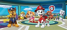 AG Design Paw Patrol at Station in The Clouds