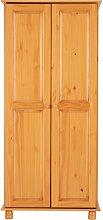 Agade 2 Door Wardrobe Natur Pur Finish: Antique