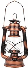 Agatige Vintage Kerosene Lamp, Bronze Oil Lamp