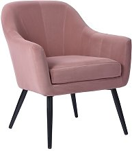 Agawam Armchair Canora Grey Upholstery Colour: Pink