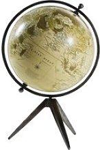 Aged Effect Metal Globe