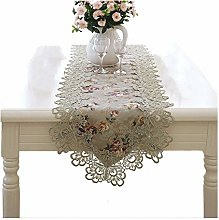 AGLZWY-Table Runner Holiday Embroidered Table