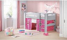 Agnes Single Mid Sleeper Bed Just Kids Colour (Bed