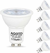 AGOTD GU10 LED Bulbs,5W Cob Led,35W 40W Halogen