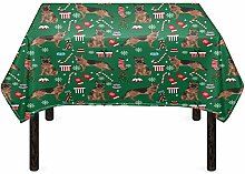 Agroupdream Christmas Decoration Tablecloth German