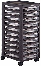 AGWa 10-Layer File Cabinet, Plastic Storage Box,