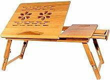 AGWa Adjustable Laptop Lap Desk,Tilting Top
