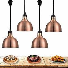 AGWa Commercial Heat Lamp Food Warmer, Buffet