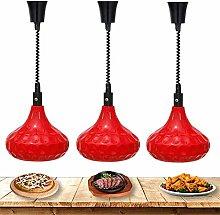 AGWa Commercial Upscale Heat Lamp Food Warmer,