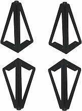AGWa Furniture Legs Furniture Legs Black(4