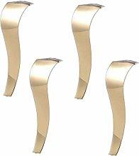 AGWa Furniture Legs Gold Sofa Legs, Stainless
