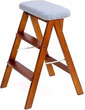 AGWa Kitchen Ladder Stool Folding Ladder Chair