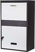 AGWa Letterboxes Parcel Box Home Mailbox Newspaper