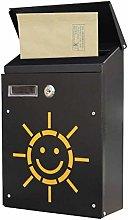 AGWa Mailbox Metal Rainproof Letter Box Apartment