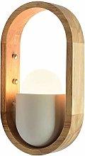AGWa Wall Lamp Creative Wood Wall Lamp Modern