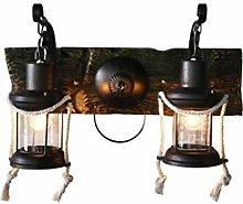 AGWa Wall Lamp Wall Lamp Vintage Chinese Wrought