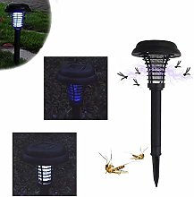 AHAQ Solar fly killer lamp, UV outdoor mosquito