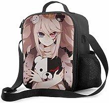 Ahdyr Anime Danganronpa Insulated Lunch Bag for
