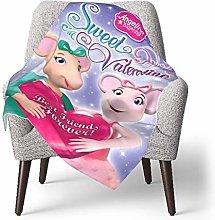 Ahdyr Baby Throw Blanket Super Soft Angelina