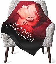 Ahdyr Baby Throw Blanket Super Soft KAne BRown
