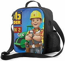 Ahdyr Bob The Builder Lunch Bag Cooler Bag Lunch