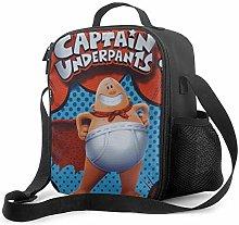 Ahdyr Captain Underpants Lunch Bag Cooler Bag