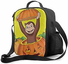 Ahdyr Curious George 7 Lunch Bag Cooler Bag Lunch