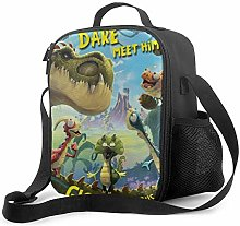 Ahdyr Gigantosaurus 4 Lunch Bag Cooler Bag Lunch