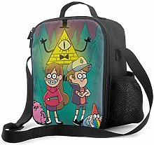 Ahdyr Gravity Falls 5 Lunch Bag Cooler Bag Lunch