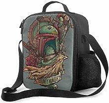 Ahdyr Mandalorian JediKnight Insulated Lunch Bag