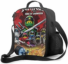 Ahdyr Ninjago 1 Lunch Bag Cooler Bag Lunch Box