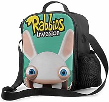 Ahdyr Rabbids Invasion Lunch Bag Cooler Bag Lunch