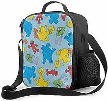 Ahdyr Sesame Street 6 Lunch Bag Cooler Bag Lunch