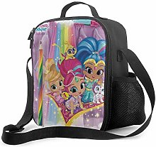 Ahdyr Shimmer and Shine 11 Lunch Bag Cooler Bag