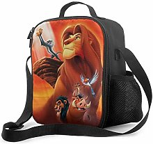 Ahdyr Simba King Lion Insulated Lunch Bag for