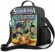 Ahdyr Slugterra 5 Lunch Bag Cooler Bag Lunch Box